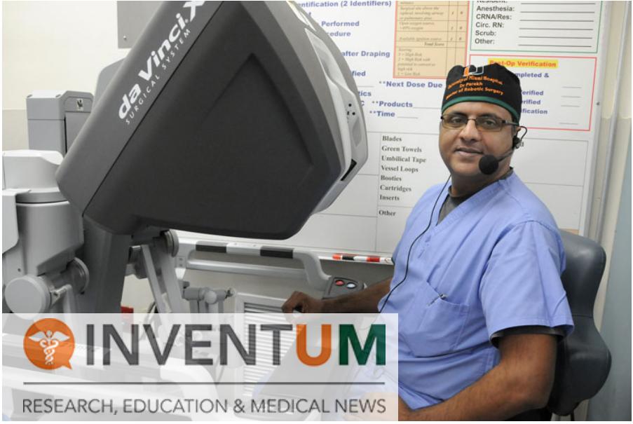 """Já ultrapassamos os 5000 procedimentos"""" disse Parekh, presidente da urologia, diretor de cirurgia robótica  UHealth, Universidade de Miami."""